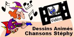 Les dessins animés des chansons pour les enfants.