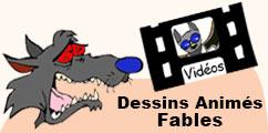 Les dessins animés de fables pour les enfants.