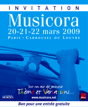Le salon de la musique classique 2009 le salon musicora for Salon musique paris