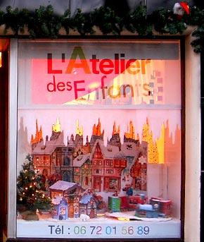 Ateliers enfants pendant les vacances de Noël.