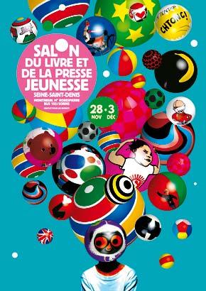 Salon du livre pour enfants 2007 le salon du livre et de la presse jeunesse à Montreuil.