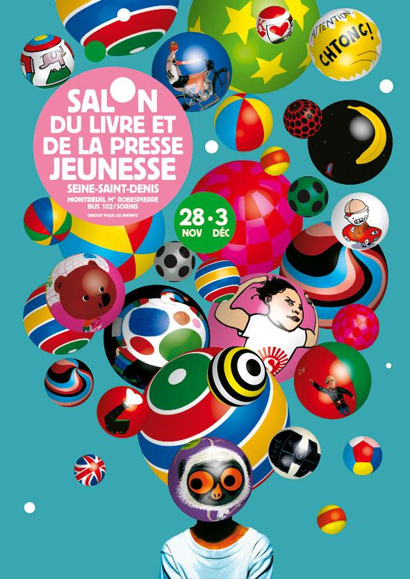 Salon du livre enfant affiche salon presse jeunesse 2007 for Salon des enfants