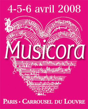 Salon de la musique classique musicora invitations for Salon musique paris