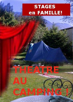Stage pour enfant, des stages de théâtre pendant l'été à Valence près de Lyon et Grenoble.