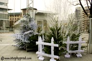Stade charléty animation neige à Paris pendant les vacances scolaires