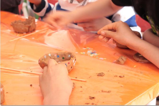 Atelier artistique durant les vacances de la Toussaint