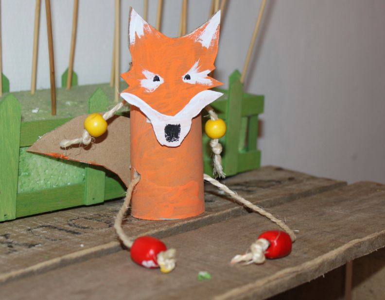 L'atelier des enfants aux vacances de la Toussaint le renard