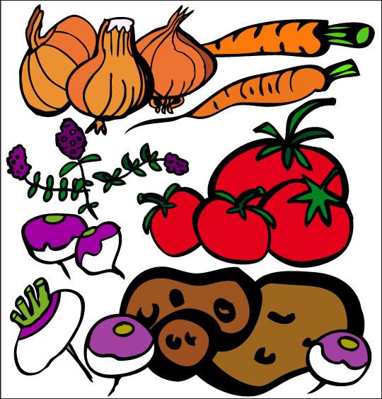 Pour Halloween, le dessin animé La soupe à la Sorcière la soupe a la sorciere legumes