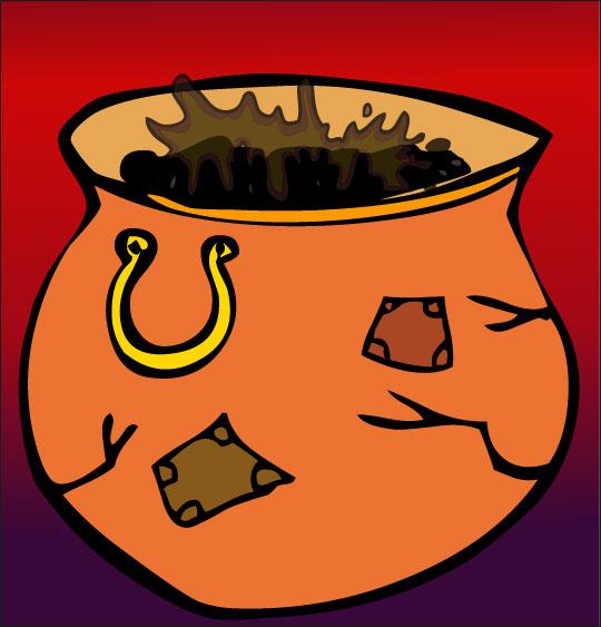 Pour Halloween, le dessin animé La soupe à la Sorcière la soupe a la sorciere marmite vieille