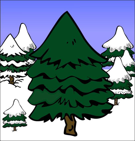 Chanson de Noël gratuite, Mon beau Sapin dans la forêt