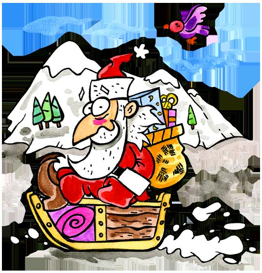 6 comptines de Noël à écouter l as tu reconnu c est le pere noel