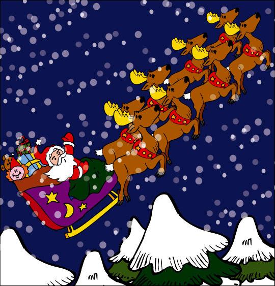 Préférence Conte de Noël, dessin animé pour les enfants - Le conte La nuit  XX13