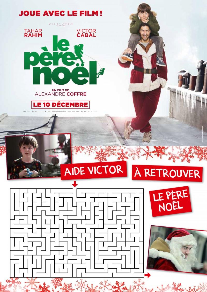 Jeux et Coloriages Le Père Noël le pere noel jeux 4 1
