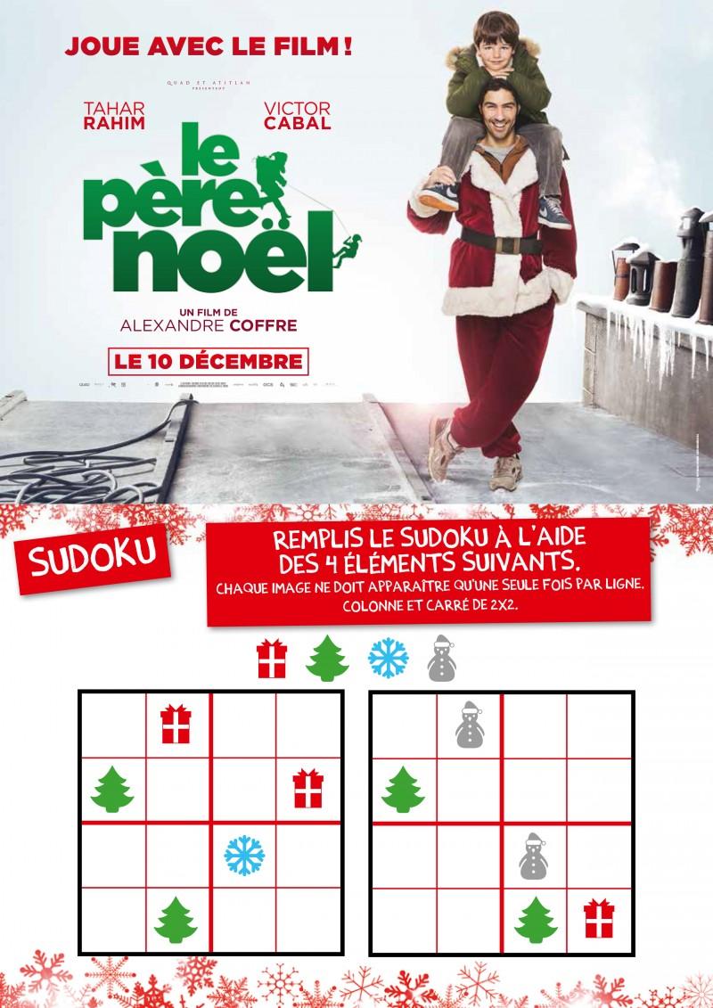Jeux et Coloriages Le Père Noël le pere noel jeux 4 5