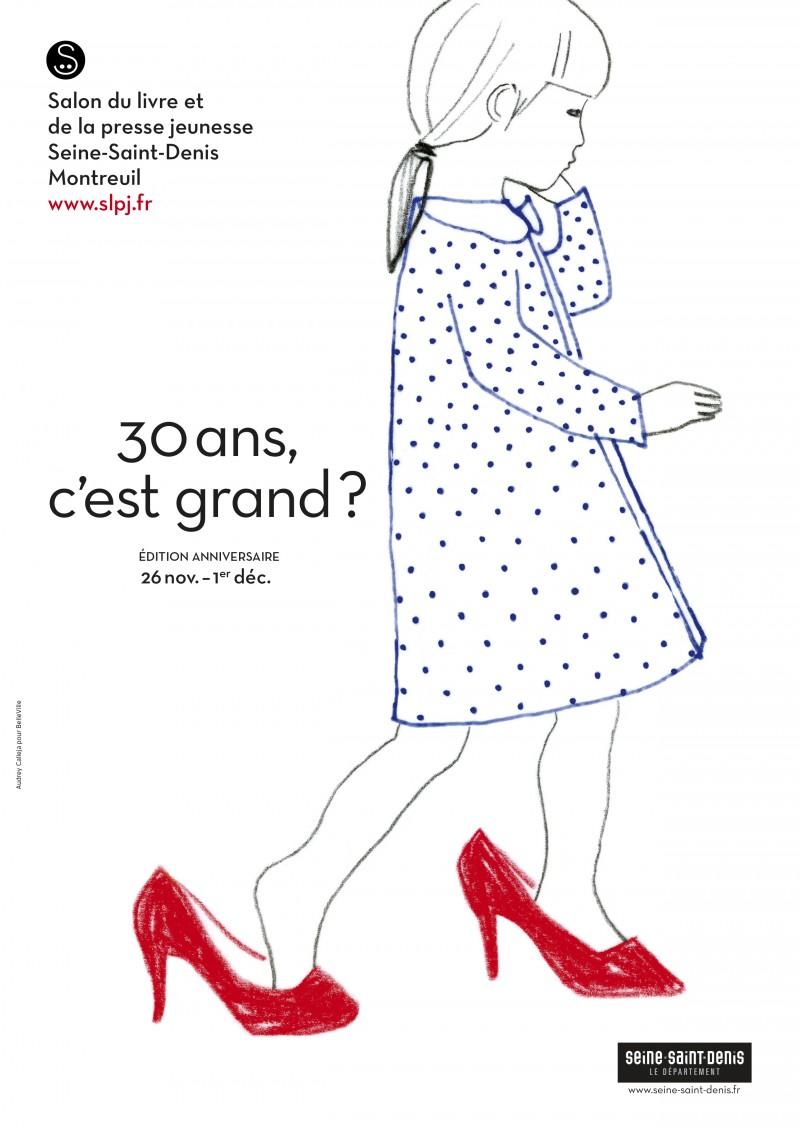 Salon du livre pour enfants 2014 à Montreuil, l'affiche