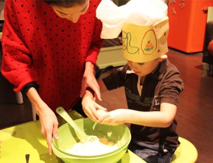 Les vacances de Noël à l'atelier des enfants