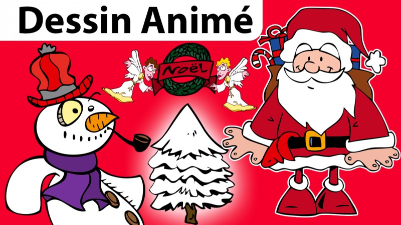 Chansons de Noël en dessins animés la jaquette de la vidéo