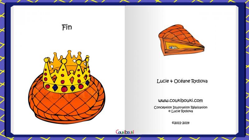 Recette, La Galette des Rois  la galette des rois  terminée