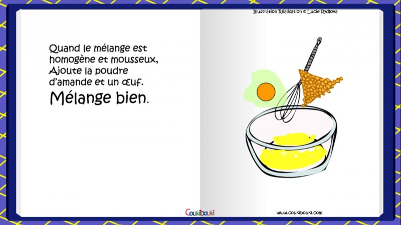 Recette, La Galette des Rois  galette des rois travaille beurre sucre