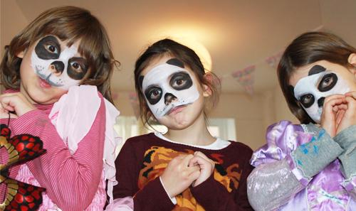 Le carnaval à l'atelier des enfants