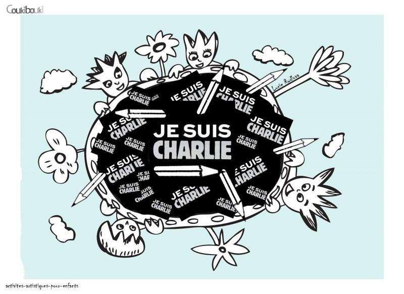 Je suis Charlie rydlova coukibouki liberté d'expression