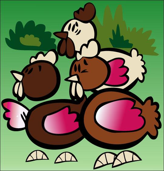 5 minutes de dessins animés gratuits pour Pâques, les 3 poules en chocolat
