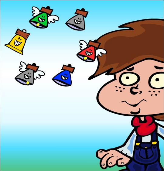 5 minutes de dessins animés gratuits pour Pâques maison garçon cloches