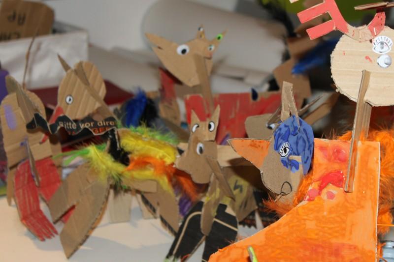Les vacances de Pâques à l'atelier des enfants, tous les animaux