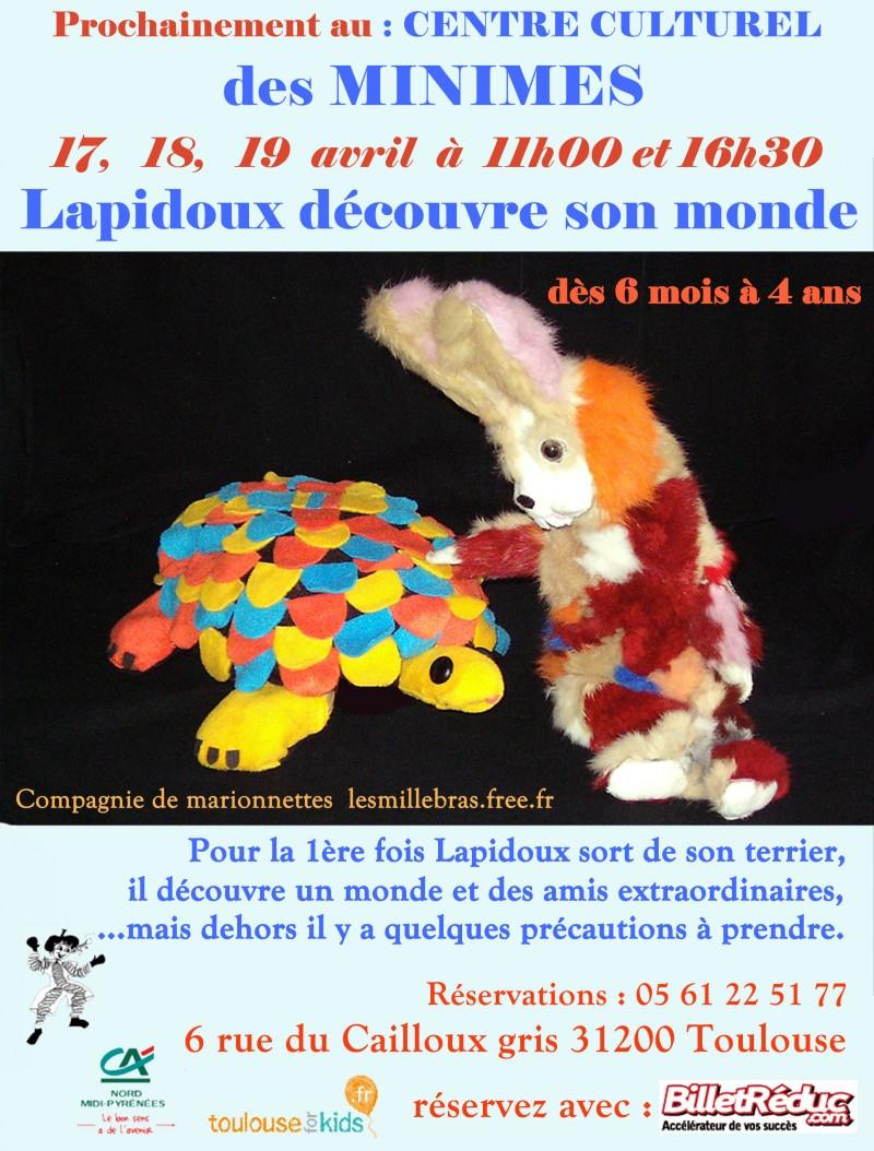 Marionnettes petite enfance à Toulouse 17 18 19 avril 2015 Métro Claude Nougaro Ligne B