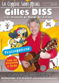 Gilles Diss - Chante-moi une Histoire !