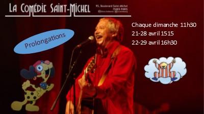 Spectacle pour les enfants à Paris. Gilles Diss - Chante-moi une Histoire !