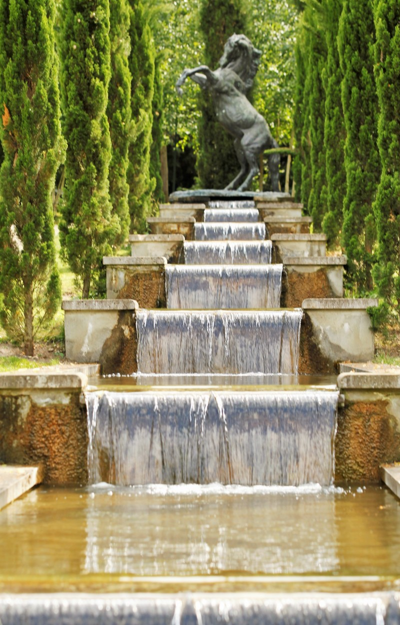 La cascade du Potager des Princes