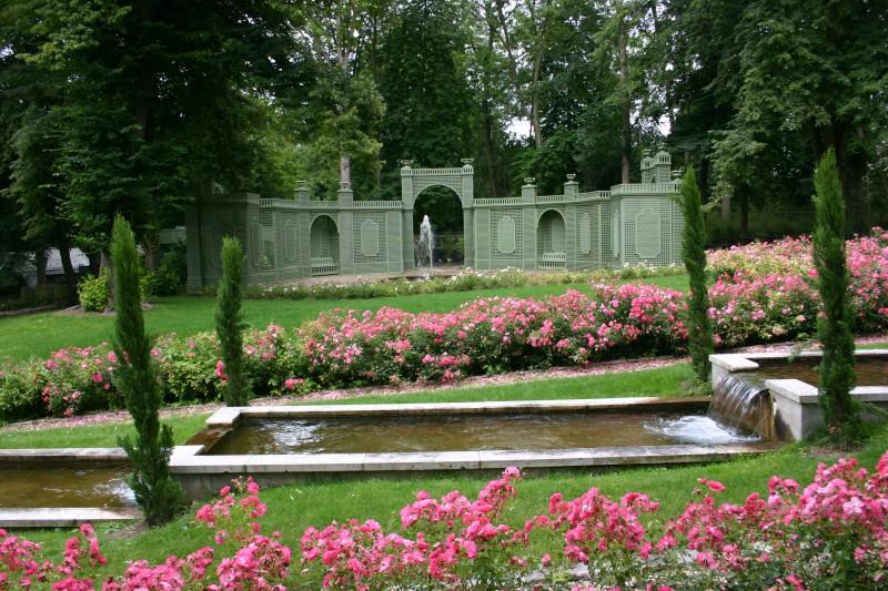 Les bassins au Potager des Princes