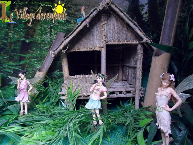 Le parc d'animation le village des enfants, le monde merveilleux.