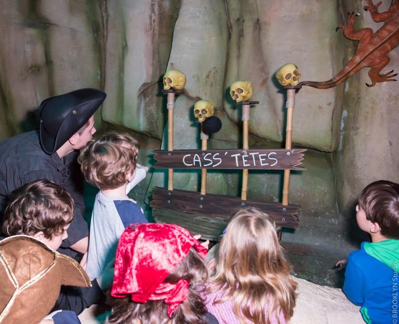 Anniversaire enfant au Repère des Pirates