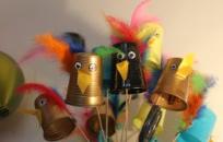 L'Ateliers des Enfants durant les vacances d'été, de droles de personnages.