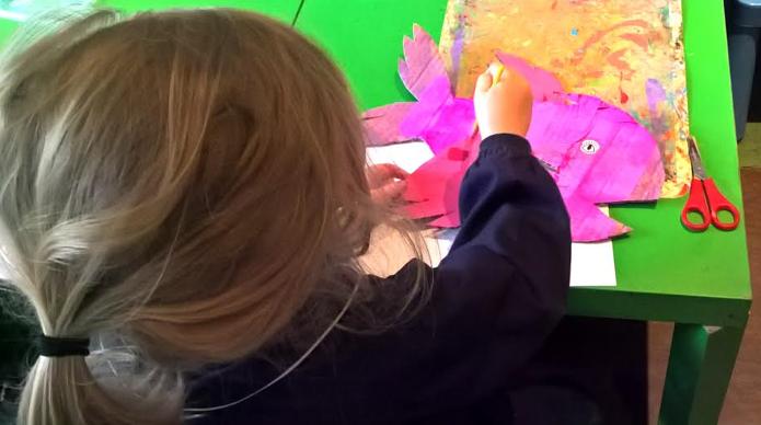 L'Ateliers des Enfants durant les vacances d'été juliette 1