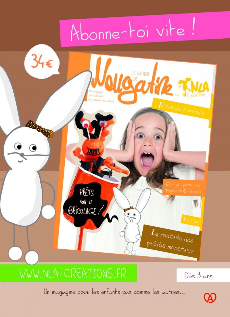 Livres enfants de NLA maison d'édition jeunesse, le magazine nougatine