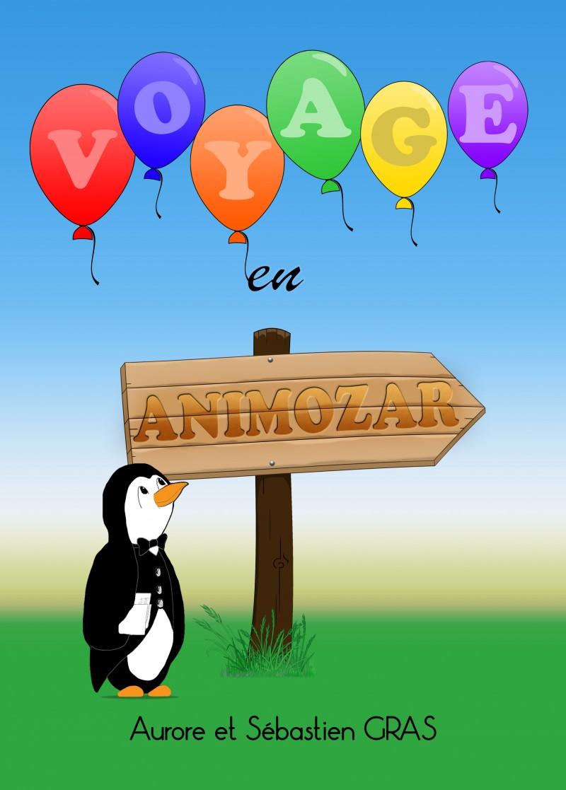 Un livre cd pour les enfants. Voyage en Animozar.