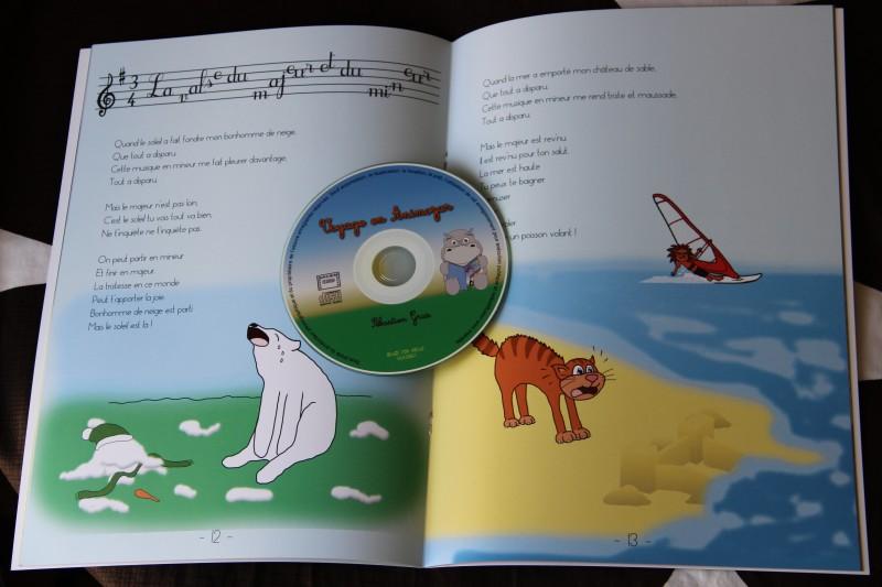 Un livre CD pour enfant, Voyage en Animozar.