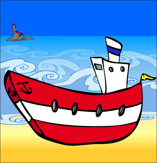 La fête de la musique avec les enfants, la chanson il etait un petit navire bateau