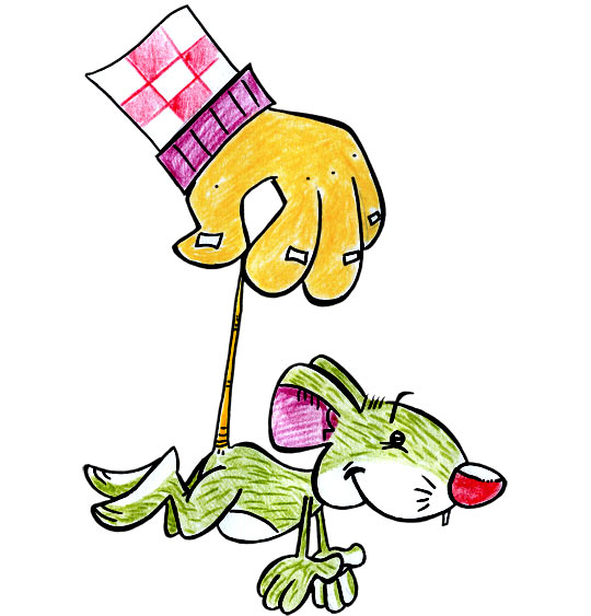 La fête de la musique avec les enfants, la chanson une souris verte.
