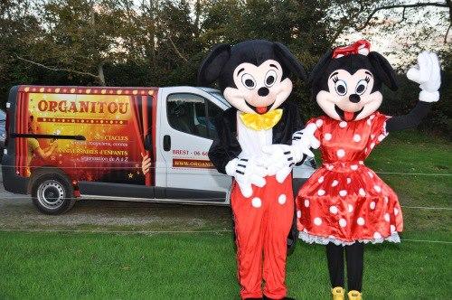 mascottes Finistere Bretagne, Spectacle de Clown et de Magicien en Finistere Bretagne