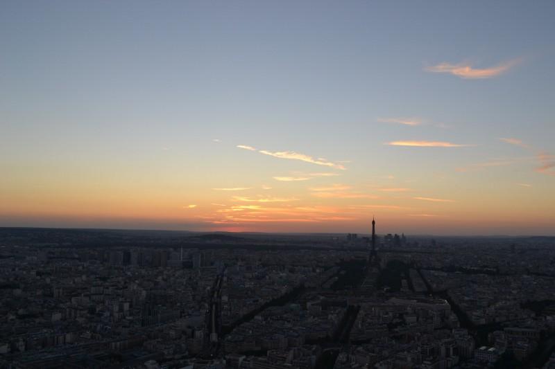 Sortie enfant à Paris, La Nuit des Etoiles à la Tour Montparnasse, la vue sur Paris.