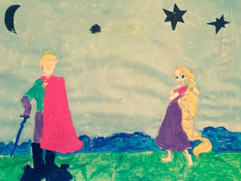 Le prince et la princesse. Les mercredis à l'Atelier des enfants. Ateliers enfants à Paris,