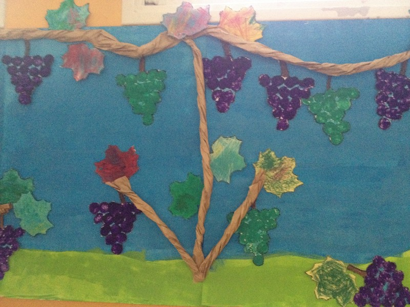 Peintures à L'Atelier des enfants à Paris, les journées du mercredi