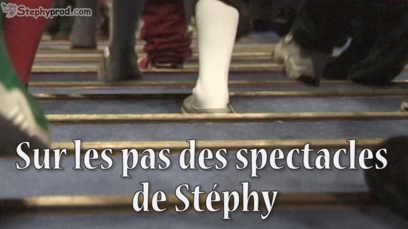 Programmez un spectacle musical de Stéphy, entrez dans la salle de spectacle.