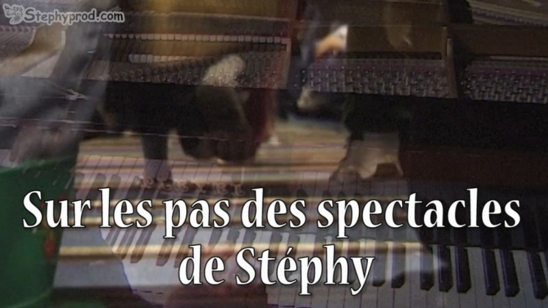 Programmez un spectacle musical de Stéphy, un piano à queue pour un spectacle pour enfants.