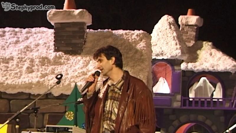 Spectacle enfant pour Noël. Programmez un spectacle musical de Stéphy, il neige dehors !