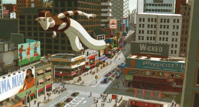 Coloriages Phantom Boy  un film d'animation